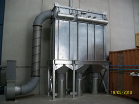 Dust Collector extraction system